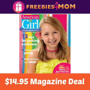 Magazine Deal: American Girl $14.95