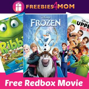 Free Redbox DVD or Blu-Ray Rental