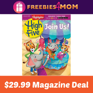 Magazine Deal: Highlights High Five $29.99