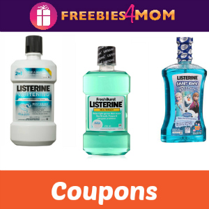 Listerine coupons december 2018