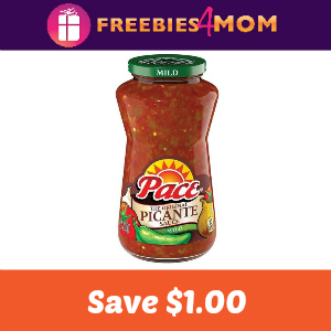 Coupon: $1.00 off Pace Salsa or Picante Sauce