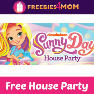 Free House Party: Nickelodeon Sunny Days