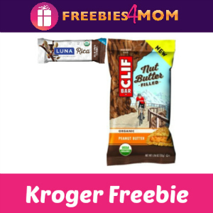 Free Clif or Luna Bar at Kroger