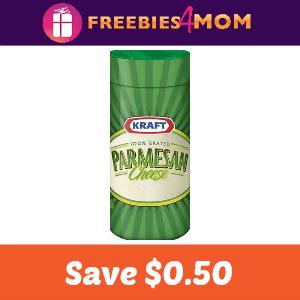 Coupon: Save $0.50 on any Kraft Parmesan Cheese