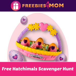 Free Hatchimals Scavenger Hunt at Target