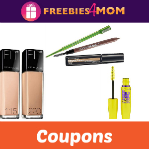 Save with Maybelline New York Coupons