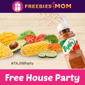 Free House Party: Add a Zing with TAJIN