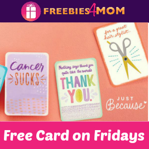 Hallmark Free Card Friday