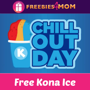 Free Kona Ice April 17