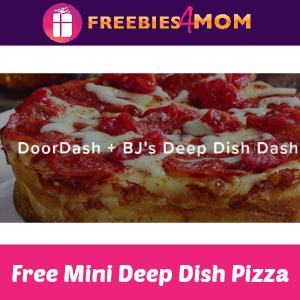 Free BJ's Deep Dish Pizza + DoorDash April 5