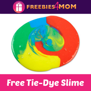 Free Tie-Dye Slime Event at Michael's April 28