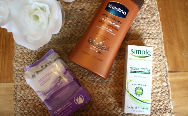 Skincare Favorites at Walgreens: POND'S, Simple, Vaseline