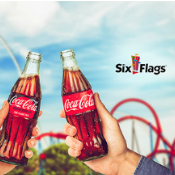Coca-Cola Six Flags Single Day Ticket