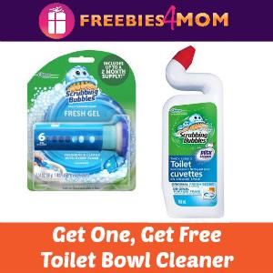 Free Scrubbing Bubbles Toilet Bowl Cleaner