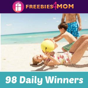 Sweeps Sun. Fun. Done. (98 Daily Winners)