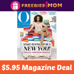 Magazine Deal: O, The Oprah Magazine $5.95