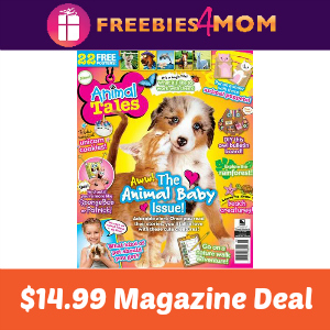 Magazine Deal: Animal Tales $14.99
