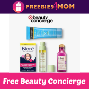 Free Target Beauty Concierge July 7