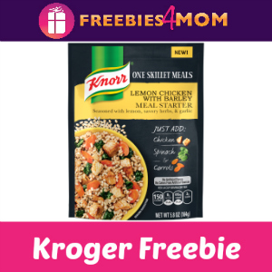 Free Knorr One Skillet Meal at Kroger