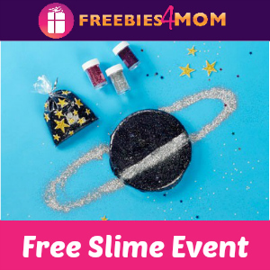 Free Slime Event at Michaels July 7