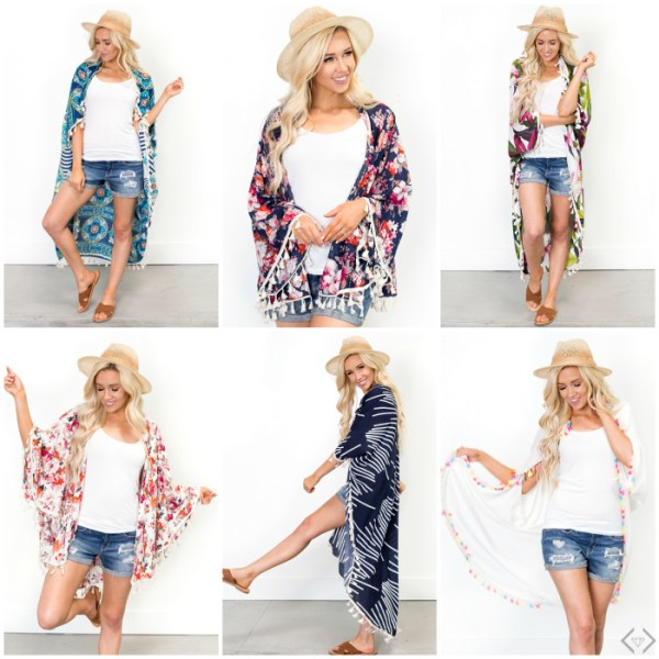 50% off New Kimonos