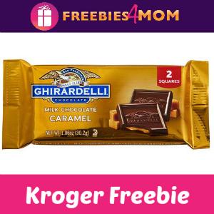 Free Ghirardelli Chocolate Caramels at Kroger