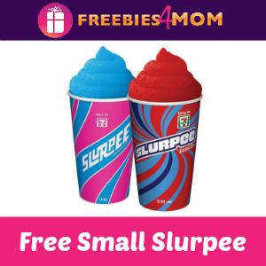 Free Small Slurpee at 7-Eleven Today