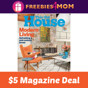 Magazine Deal: This Old House $5.00