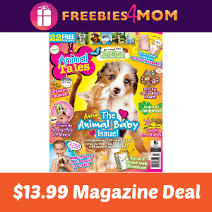 Magazine Deal: Animal Tales $13.99