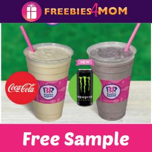 Free Sample Baskin-Robbins Ice Cream Freeze