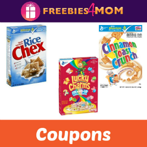 Save on Cheerios, Chex & More!