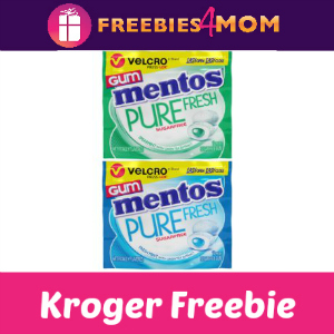 Free Mentos Gum Velcro Wallet Pack at Kroger