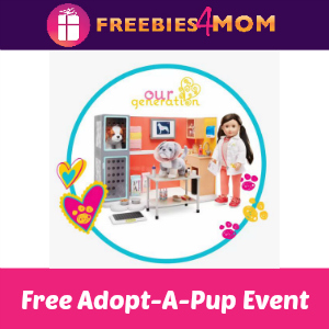 Free Our Generation Adopt-A-Pup at Target