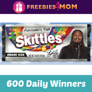 Sweeps Skittles Marshawn's Pack