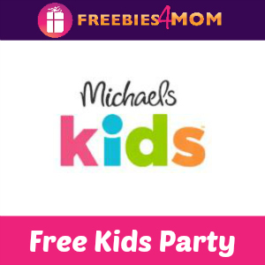 Free Michaels Kids Party Oct. 6