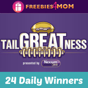 Sweeps Nexium Tailgate (24 Daily Winners)