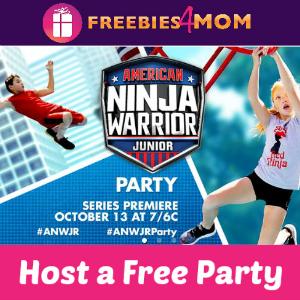 Free American Ninja Warrior Jr. House Party