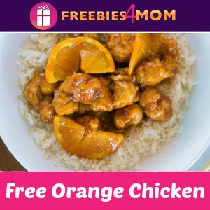 Free Orange Chicken at Pei Wei (w/purchase)
