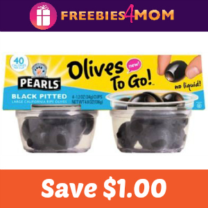 Coupon: Save $1.00 On Pearls Olives to Go!