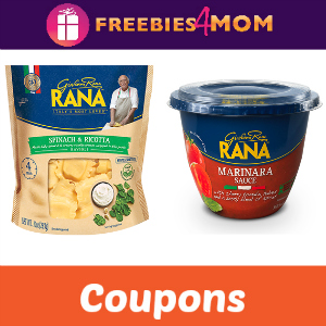 Save on Giovanni Rana Pasta & Sauce