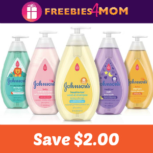 Coupon: Save $2.00 on one Johnson's Product