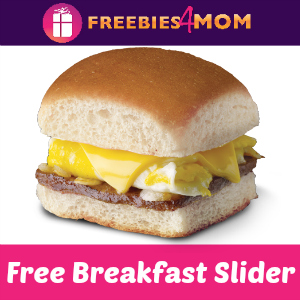 Free Breakfast Slider at White Castle Oct. 12
