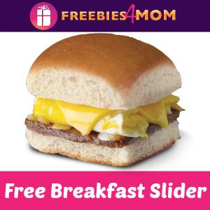 Free Breakfast Slider at White Castle Oct. 12