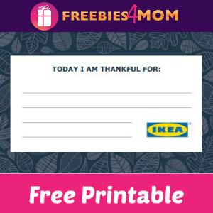 Free Printable Thankful Cards