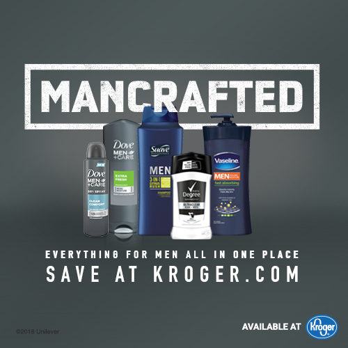 Mancrafted Unilever Men's Personal Care Products at Kroger