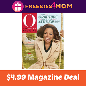 Magazine Deal: O, The Oprah Magazine $4.99