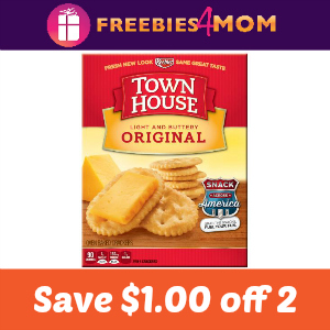 Coupon: Save $1.00/2 Town House Crackers