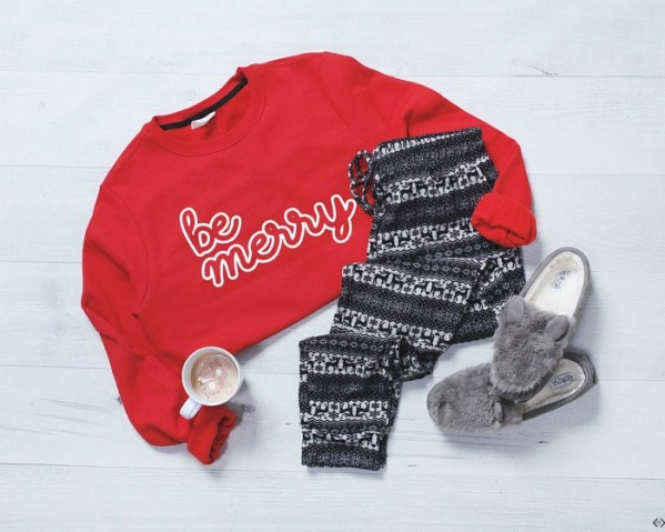 Free Be Merry Sweatshirt with $30 Purchase