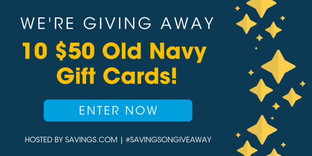 $500 Old Navy Gift Card Giveaway