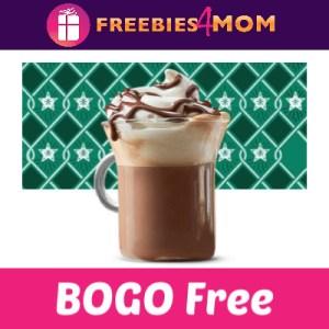 BOGO Espresso or Hot Chocolate at Starbucks